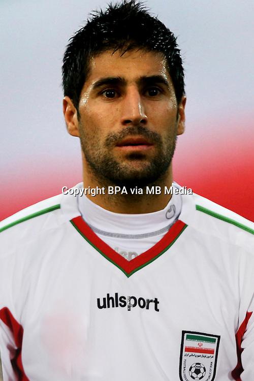 Football Fifa Brazil 2014 World Cup / <br /> Iran National Team - <br /> Hashem Beikzadeh of Iran