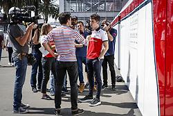 October 25, 2018 - Mexico-City, Mexico - Motorsports: FIA Formula One World Championship 2018, Grand Prix of Mexico, ..#16 Charles Leclerc (MCO, Alfa Romeo Sauber F1 Team) (Credit Image: © Hoch Zwei via ZUMA Wire)