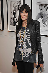 ANNABELLE NEILSON at a private view of photographs by Marina Cicogna from her book Scritti e Scatti held at the Little Black Gallery, 3A Park Walk London SW10 on 16th October 2009.