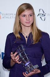 Sara Strajnar at Best Slovenian athlete of the year ceremony, on November 15, 2008 in Hotel Lev, Ljubljana, Slovenia. (Photo by Vid Ponikvar / Sportida)