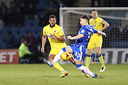 Gillingham FC midfielder Mark Byrne (33) during the EFL Sky Bet League 1 match between Gillingham and AFC Wimbledon at the MEMS Priestfield Stadium, Gillingham, England on 21 February 2017.