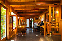 Steamboat Inn on the North Umpqua River. Cascade Mountains, Oregon.