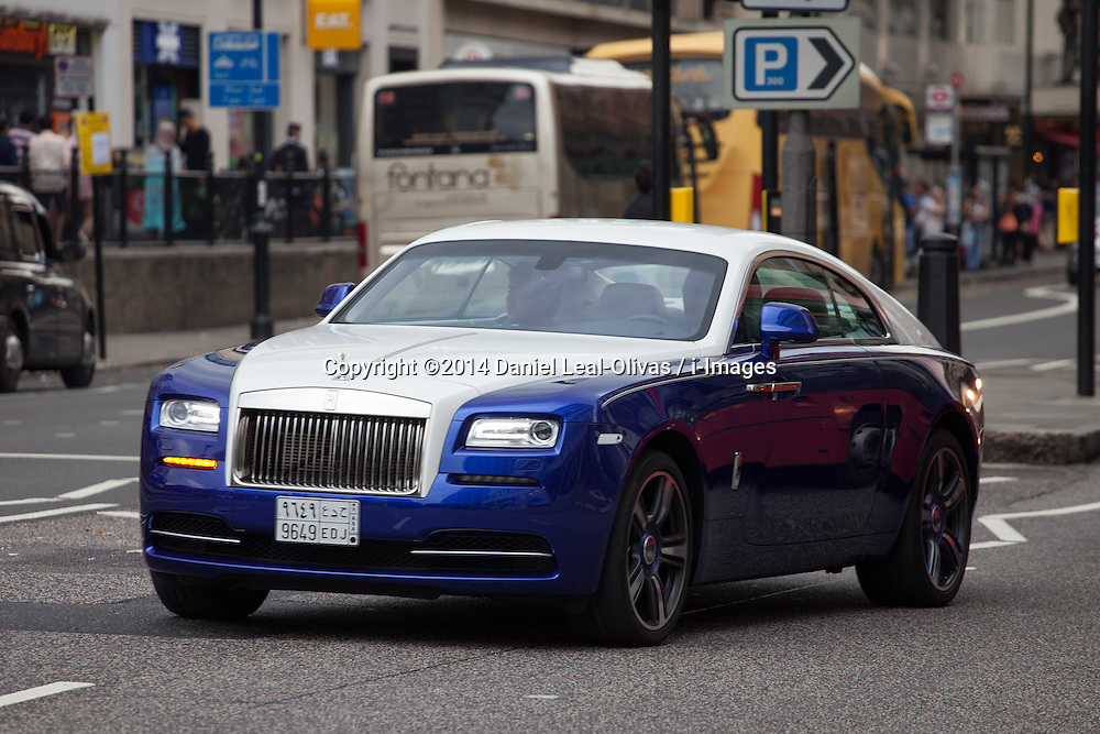 Luxury Cars Flooding Knightsbridge Area In London I Images