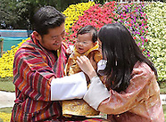 Bhutan Royal Family Attend Flower Exhibition