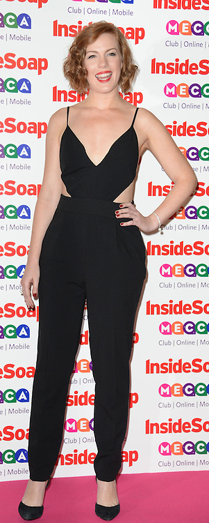 Inside Soap Awards.<br /> Niamh McGrady arrives for the Inside Soap Awards, Ministry of Sound, London, United Kingdom,<br /> Monday, 21st October 2013. Picture by Andrew Parsons / i-Images