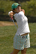 Kimberly Kim during the semifinals of the U.S. Women's Amateur at Crooked Stick Golf Club on Aug. 11, 2007 in Carmel, Ind.    ...©2007 Scott A. Miller