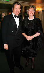 MR & MRS MICHAEL PORTILLO the former Conservative Government Minister, at a ball in London on 13th October 1999.MXP 36