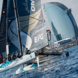 2017/07/20 EXTREME SAILING SERIES ACTC 4 BARCELONA
