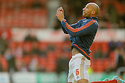 Nottingham Forest defender Kelvin Wilson  during the The FA Cup fourth round match between Nottingham Forest and Watford at the City Ground, Nottingham, England on 30 January 2016. Photo by Simon Davies.