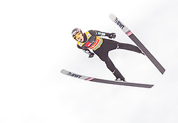 22.03.2019, Planica, Ratece, SLO, FIS Weltcup Ski Sprung, Skiflug, Einzelbewerb, Probesprung, Finale, im Bild Ryoyu Kobayashi (JPN) // Ryoyu Kobayashi of Japan during his trail jump of the Ski Flying Hill individual competition of the FIS Ski Jumping World Cup Final 2019. Planica in Ratece, Slovenia on 2019/03/22. EXPA Pictures © 2019, PhotoCredit: EXPA/ JFK