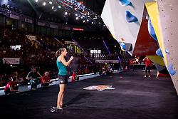 Katja Kadic of Slovenia during Semifinals of Adidas RockStars 2018, on September 22, 2018 in Porsche-Arena, Stuttgart, Germany. Photo by Urban Urbanc / Sportida