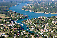 Lake Travis on the Colorado River is a favorite playground near Austin, Texas.