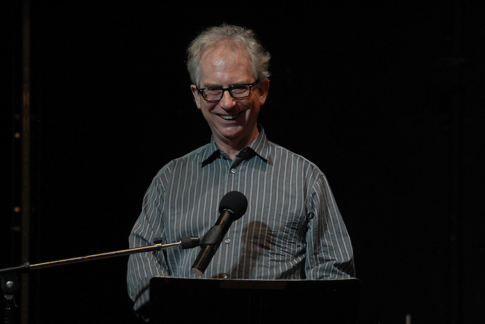Photo shows Peter Carey..An evening of readings with Peter Carey Booker Prize novelist at at The Performing Garage. 33 Wooster Street, Manhattan.Readings were performed by Wallace Shawn, Scott Shepherd, Maura Tierney, and students from Still Waters in a Storm. Selections from Mr. Carey's work were read, including a preview of his new novel..Hosted by Kate Valk of The Wooster Group and Frances Coady, publisher of Picador U.S.A. All proceeds benefited 'Still Waters in a Storm' A reading and writing sanctuary for children in Bushwick, Brooklyn.