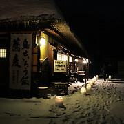Ouchijuku Village, Fukushima-ken