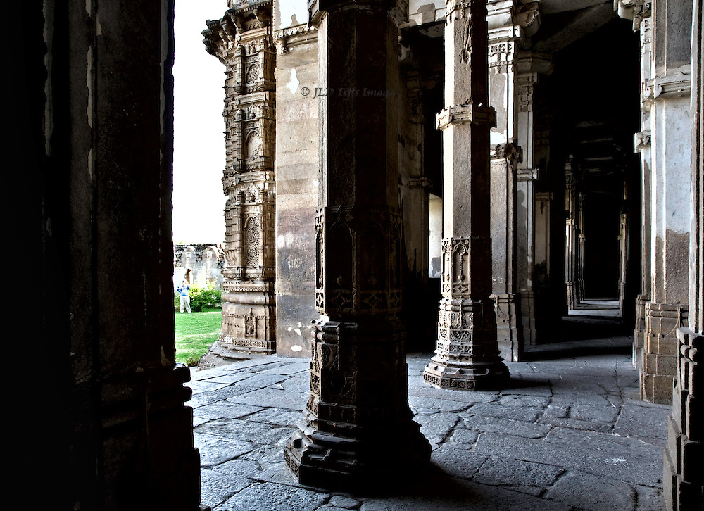 Friday mosque, Champaner-Pavagadh Archaeological Park.