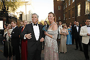 Geoffrey Tarrant and Justina Baskauskan, Ark Gala Dinner, Marlborough House, London. 5 May 2006. ONE TIME USE ONLY - DO NOT ARCHIVE  © Copyright Photograph by Dafydd Jones 66 Stockwell Park Rd. London SW9 0DA Tel 020 7733 0108 www.dafjones.com