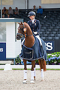 Kirsten Brouwer - Five Star<br /> Longines FEI/WBFSH World Breeding Dressage Championships for Young Horses 2016<br /> © DigiShots