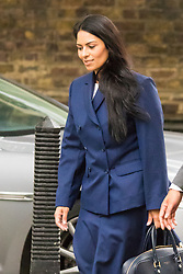 Downing Sreet, London, July14th 2015. Employment Minister Priti Patel arrives at 10 Downing street for the government's weekly cabinet meeting.