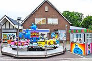 Nederland, Millingen, 22-9-2017Een kleine dorpskermis. Kinderattractie.  Het gaat niet goed met de kleine kermissen. Het bezoek loopt terug.Foto: Flip Franssen