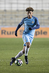 January 26, 2017 - Manchester, Greater Manchester, UK - Manchester , UK . JADON SANCHO on the ball . Manchester City vs Southampton Football Club at the Academy Arena , Etihad Campus  (Credit Image: © Joel Goodman/London News Pictures via ZUMA Wire)