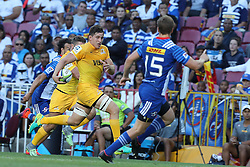 Tomas Lezana of the Jaguares during the Super Rugby match between DHL Stormers and Jaguares held at DHL Newlands in Cape Town, South Africa on the 4th March 2017.<br /> <br /> Photo by Ron Gaunt/Villar Press
