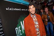 AMSTERDAM - In het ketelhuis is de perspresentatie gehouden van het nieuwe seizoen 'Wie Is De Mol 2014'. Met hier op de foto  Maurice Lede. FOTO LEVIN DEN BOER - PERSFOTO.NU