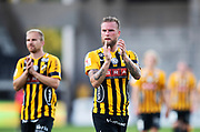 GOTHENBURG, SWEDEN - JULY 19: Alexander Faltsetas of BK Hacken after the UEFA Europa League Qualifier match between BK Hacken and FK Liepaja at Bravida Arena on July 19, 2018 in Gothenburg, Sweden. Photo by Nils Petter Nilsson/Ombrello ***BETALBILD***