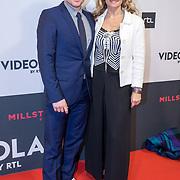 NLD/Amsterdam/20171113 - Premiere Soof: Een Nieuw Begin, Cas Jansen en partner Annelieke Bouwens