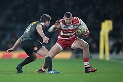 December 27, 2016 - London, England, United Kingdom - Jonny May of Gloucester during Aviva Premiership Rugby match between Harlequins and Gloucester Rugby at The Twickenham Stadium, London on 27 Dec 2016  (Credit Image: © Kieran Galvin/NurPhoto via ZUMA Press)