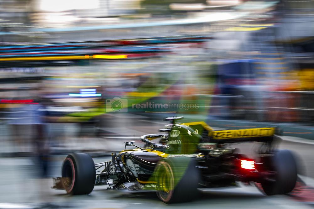 September 14, 2018 - Singapore, Singapore - Motorsports: FIA Formula One World Championship 2018, Grand Prix of Singapore, .#27 Nico Hulkenberg (GER, Renault Sport Formula One Team) (Credit Image: © Hoch Zwei via ZUMA Wire)