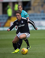 August 5th 2017, Dens Park, Dundee, Scotland; Scottish Premiership; Dundee versus Ross County; Dundee's Scott Allan