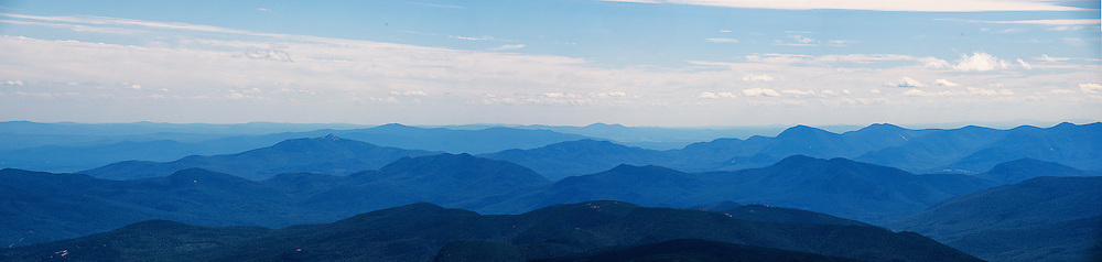 White Mountains, New Hampshire. This is the view as seen from the Mt Washington summit. Too bad the summit opens for the public - after - sunrise.
