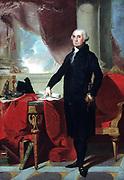 George Washington (1732-1799) c1796, lst president of the America.