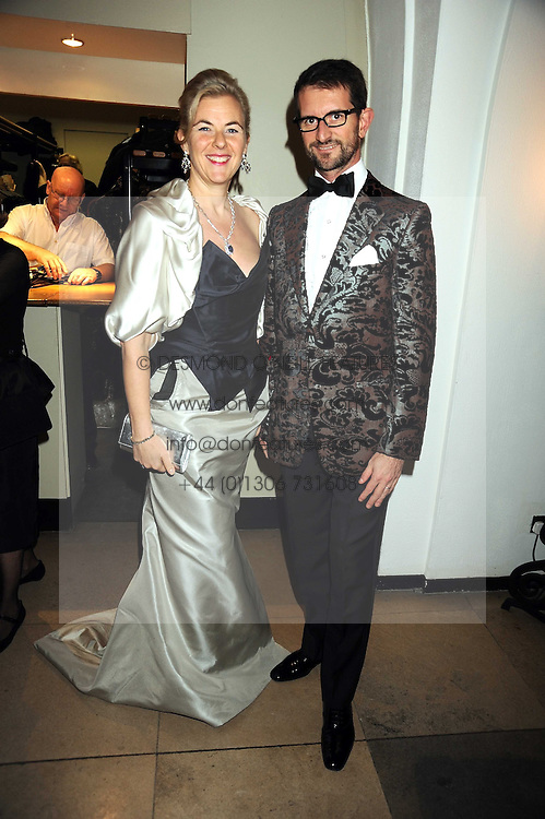 COUNT & COUNTESS MANFREDIE DELLA GHERARDESCA at Chaos Point - a fashion show from Viienne Westwood's Gold Label Collection in aid of the NSPCC at The Banqueting House, London SW1 on 18th November 2008.