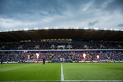 Reading and Fulham enter the stadium - Mandatory by-line: Jason Brown/JMP - 16/05/2017 - FOOTBALL - Madejski Stadium - Reading, England - Reading v Fulham - Sky Bet Championship Play-off Semi-Final 2nd Leg