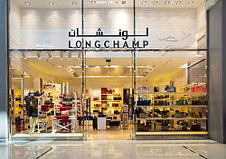 Longchamp store in the Dubai Mall, UAE