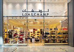 Longchamp store in the Dubai Mall, UAE