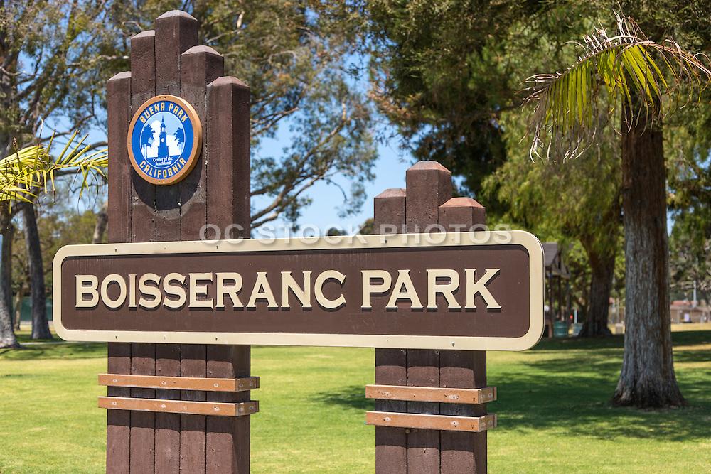 Boisseranc Park of Buena Park in Orange County