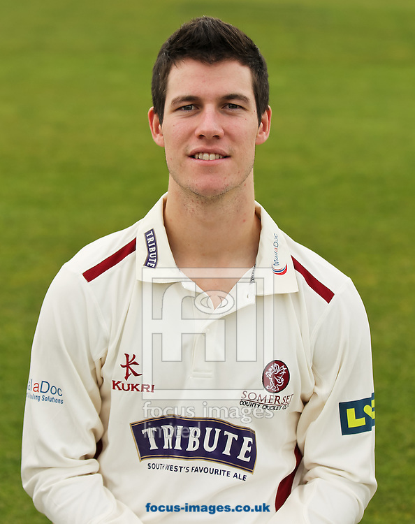 George Dockrell pictured during Somerset County Cricket Club media day at the County Ground, Taunton, Taunton<br /> Picture by Tom Smith/Focus Images Ltd 07545141164<br /> 31/03/2014