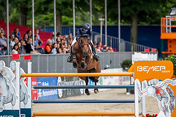 AUGUSTSSON ZANOTELLI Angelica (SWE), NINTENDER STAR<br /> Münster - Turnier der Sieger 2019<br /> BRINKHOFF'S NO. 1 -  Preis<br /> CSI4* - Int. Jumping competition  (1.50 m) -<br /> 1. Qualifikation Grosse Tour <br /> Large Tour<br /> 02. August 2019<br /> © www.sportfotos-lafrentz.de/Stefan Lafrentz