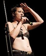 Amanda Fucking Palmer <br /> Live performance at Heaven, London, Great Britain <br /> 2nd September 2011 <br /> <br /> <br /> Amanda Palmer <br /> <br /> <br /> Photograph by Elliott Franks