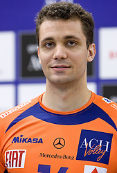 Matej Vidic at press conference of volleyball club ACH Volley before new season 2009/2010,  on September 28, 2009, in Ljubljana, Slovenia.  (Photo by Vid Ponikvar / Sportida)