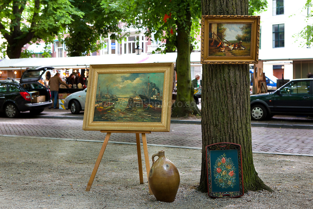 Sunday Antique market, The Hague