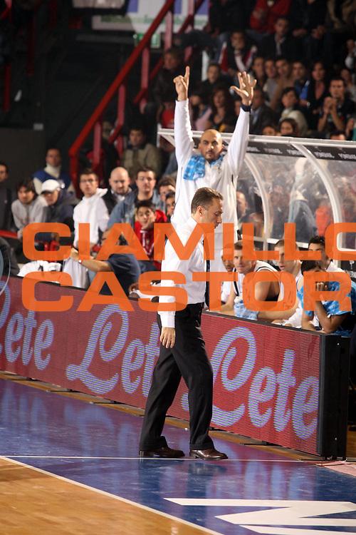 DESCRIZIONE : Napoli Eurolega 2006-07 Eldo Napoli Aris Salonicco <br />GIOCATORE : Bucchi<br />SQUADRA : Eldo Napoli<br />EVENTO : Eurolega 2006-2007 Eldo Napoli Aris Salonicco<br />GARA : Eldo Napoli Aris Salonicco<br />DATA : 08/11/2006 <br />CATEGORIA : Ritratto<br />SPORT : Pallacanestro <br />AUTORE : Agenzia Ciamillo-Castoria/G.Ciamillo