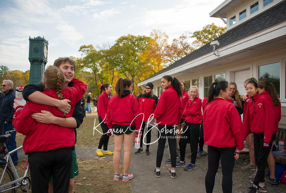 St Paul's School Cross Country.  ©2018 Karen Bobotas Photographer