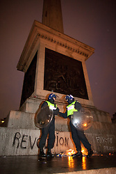 © under license to London News Pictures. 30/11/2010: Students  in London continue to protest against cutbacks and the coalition government's proposed rise in tuition fees.