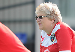 Bristol Academy fan - Photo mandatory by-line: Dougie Allward/JMP - Mobile: 07966 386802 - 28/09/2014 - SPORT - Women's Football - Bristol - SGS Wise Campus - Bristol Academy Women's v Manchester City Women's - Women's Super League
