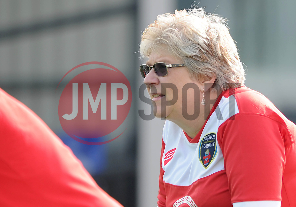 Bristol Academy fan - Photo mandatory by-line: Dougie Allward/JMP - Mobile: 07966 386802 - 28/09/2014 - SPORT - Women's Football - Bristol - SGS Wise Campus - Bristol Academy Women's v Manchester City Women's - Women's Super League