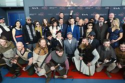 Edinburgh International Film Festival 2019<br /> <br /> Robert The Bruce (World Premiere)<br /> <br /> Pictured: cast and crew<br /> <br /> Alex Todd | Edinburgh Elite media