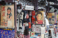 Chine, Shanghai, Nanshi l'ancienne ville chinoise, marche aux puces de Dongtai Lu. / China, Shanghai, Nanshi the old chinese city, antique market at Dongtai Lu